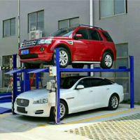 厂家生产导轨式家用小型多功能立体停车库汽车升降机双层停车位多层钢结构
