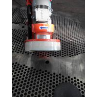 江陵钢板氧化层除锈抛光机 恩施钢板表面抛光机 荆门钢板表面除锈机 手推式钢板除锈打磨机