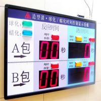 青岛昕恒特cpuele专属定制 5寸数码管10位单面室内显示 高清高精电子看板