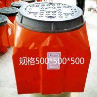 500*500*600市政工程路灯手孔井防静电防渗漏高分子树脂纤维复合手孔井