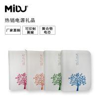 厂家直销MIDU品牌聚合物记事本手机苹果安卓两用礼品定制移动电源