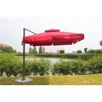 迪爱伞篷厂直销 3*3米方形双顶罗马伞 户外遮阳伞 休闲庭院伞 广告遮阳伞