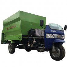 牧场养殖用喂料设备 柴油撒料车可加工定做润丰