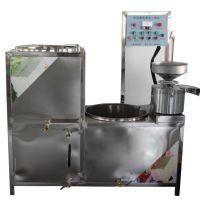 豆制品加工厂煮浆磨浆一体机 全自动三联磨豆浆机 商用豆制品加工创业设备