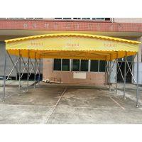 上海虹口区厂家生产定做移动汽车遮阳棚可折叠式帐篷小区花园活动雨蓬PVC布