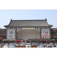 世界之***-门神浮雕坐落于天津杨柳青古镇5A景区