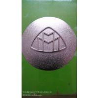 西宁金属标牌定做尺寸大小锌合金立体标牌专业制作厂家