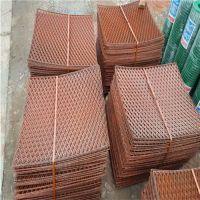 焊网钢笆片 80刀金属冲压网 菱型