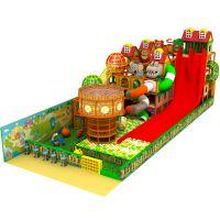 整场策划定制儿童乐园淘气堡电动设备 波波池木质大滑梯游乐场设备 儿童玩具设备