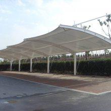 新款PVDF膜结构停车棚景观张拉膜膜结构充电棚膜结构遮阳棚制造只为铸造品牌