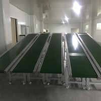斜波输送线 自动流水拉线 pvc皮带生产线 输送机 佳兴成厂家非标定制