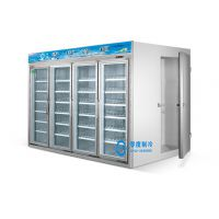 零度冷柜供应超市四门展示柜/四门冷柜/四门冰柜/四门饮料冷藏柜