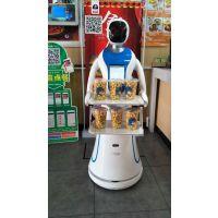 送餐机器人代替部分人工用在餐厅做传菜服务员,也可用在门口做门迎。穿山甲机器人在贵州地区招经销