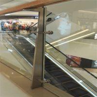 金聚进 商场不锈钢玻璃栏杆加工CC-520,不锈钢栏杆立柱生产厂家