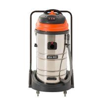 净美大功率工业吸尘器 超强吸力吸水机JM775 酒店宾馆用80L