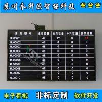 苏州永升源厂家直销工厂产线 设备状态呼叫 0-10V信号车间报警 LCD液晶显示屏
