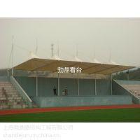 体育看台用遮阳雨篷工程 承接安装学校操场看台膜结构雨棚工程