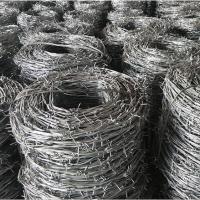 刺绳刺丝刺网 镀锌防锈铁蒺藜防爬防盗网 带刺铁丝网