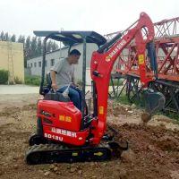 农村改造微型挖掘机 多功能山鼎小型挖掘机