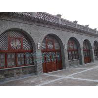 西安实木门窗厂家、松木门窗价格尺寸、寺庙木门窗效果图