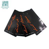 (润之行)服装吊牌定做 男装童装内衣女装吊牌制作 袜卡腰封订做免费设计