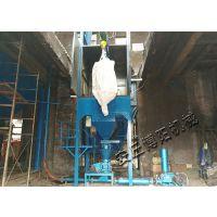 江西钙镁粉吨袋拆包机 博阳自动吨袋破包机制造