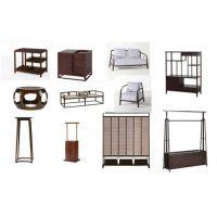 资深软装设计公司茶室空间家具素材