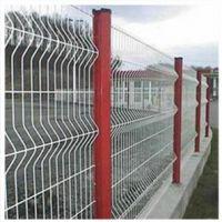 瑞才桃型柱三道折弯厂区护栏网(0.8-2.0米)多选