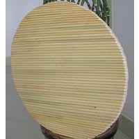 批发纯手工圆形双层盖垫简介 高粱杆盖垫说明 报价