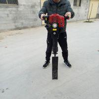 汽油挖树机型号 链锯断根起树机 起苗移栽挖树机批发