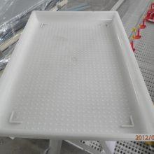 塑料省料盘 方形加食盘类型 养鸡用开食盘