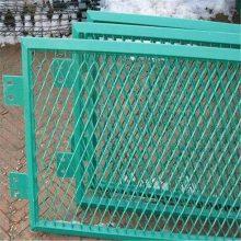 钢板网围墙 高速公路护栏网 防锈漆钢板网