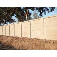 养猪临时围墙@太原围场预制板多少一米@水泥建筑围栏板安装效果图