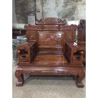 刺猬紫檀花梨木古典款式沙发生产厂家批发价格