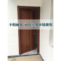 木塑玻璃门厂家 防白蚁防水室内门