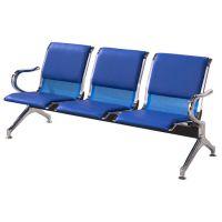 加皮垫不锈钢排椅*3人位加皮垫排椅*皮垫公共排椅批发*软垫公共排椅