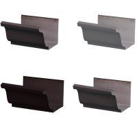 屋面铝合金成品雨水槽价格