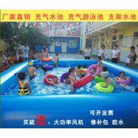 游乐设施充气水池多少钱 100平米游泳池设备哪买 充气水池夏季好玩吗