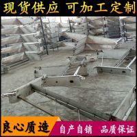 山西猪场直供不锈钢猪舍刮粪板 一拖三价格 粪尿分离刮粪机