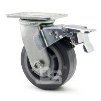 大世脚轮 静音带边刹货架轮子 6寸设备静音脚轮 高承载防静电 可定制