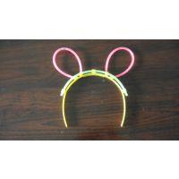 星奇厂家直销一次性塑料儿童节玩具荧光棒发光发夹发挎生日聚会求婚地摊热卖亲子交流互动玩具饰品