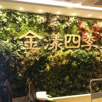 湖南工厂直销植物墙设计施工 草皮背景墙 花墙 商业软装仿真植物批发