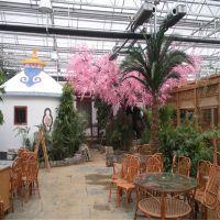 山东生态餐厅温室大棚建设工程