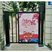 供应西藏拉萨小区坤捷KJ-GF广告门可以安装广告