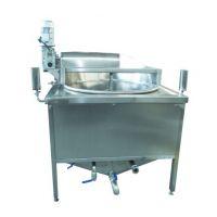厂家供应全自动丸子油炸机 连续式薯条油炸线 可定制
