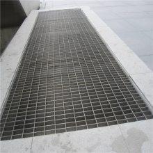 钢格板图集 小区围栏钢格板 复合水沟盖板