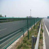 朋英厂家供应 高速公路防护网 低碳钢丝防眩网 钢板网护栏