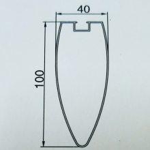 供应内蒙古铝方通 铝型材方管 异形铝方通厂家