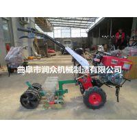 河南省香菜汽油精播机报价 拖拉机牵引式穴播机 手推播种机介绍