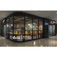 南京同仁医院咖啡吧-店面设计装修-商业店铺设计-南京大唐格雅展柜厂